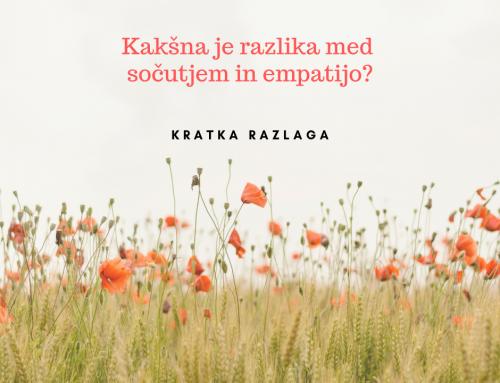Sočutje in empatija