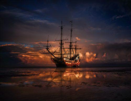 Kratka zgodba: Piratska ladja
